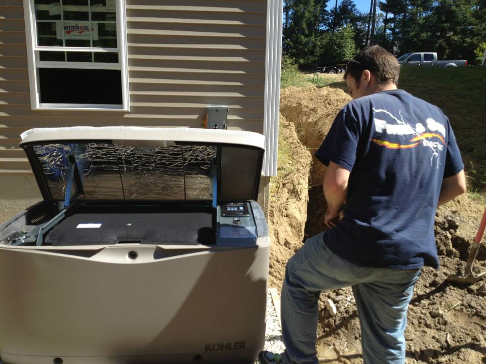 Kohler 14KW Generator at Pine Creek Estates