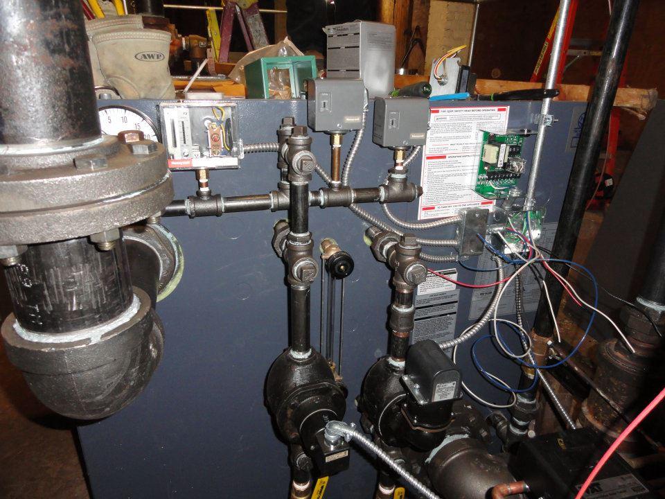 Steam Boiler wiring