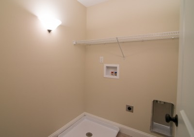 laundry room electrical work