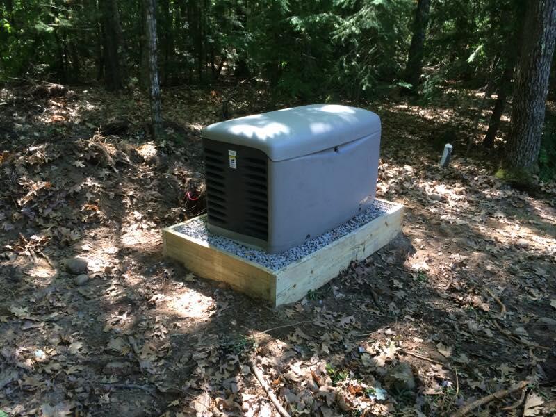 Kohler 20K generator system installed in Hollis, NH