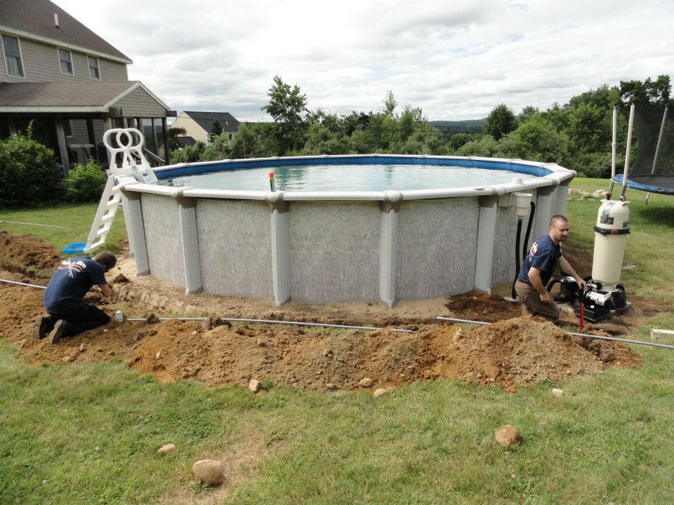 pool wiring and trenching