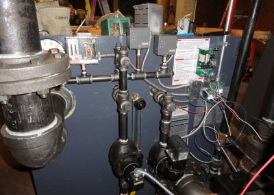 Steam Boiler wiring