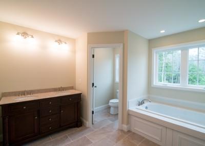 master bathroom construction