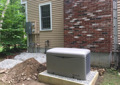 Hollis, NH automated generator install